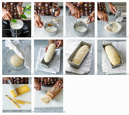 How to make laurel and honey white bread