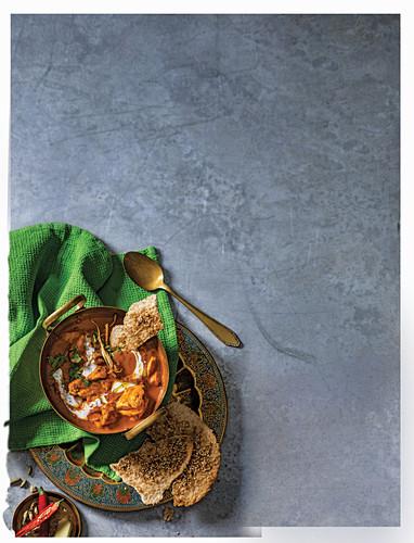 Indien butter chicken curry