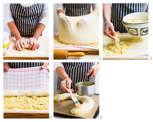 How to make herb strudel