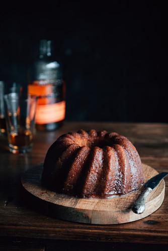 Kentucky Cake (wreath cake with bourbon, USA)