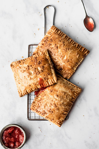 Strawberry Filled Sweet toaster pastries