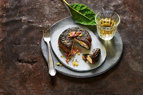 Greek chard and yoghurt cake