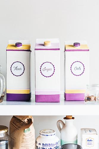 Handmade storage containers