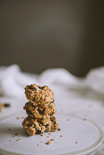 Tasty oatmeal cookies