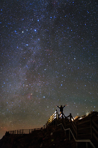Milky Way in winter from China