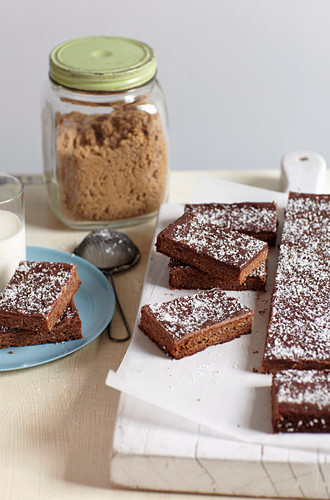 Chewy Chocolate Slice
