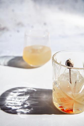 Cachaca Sour Cocktail