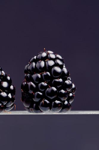 Blackberries (close up)