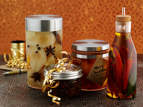 Preserves as Christmas presents