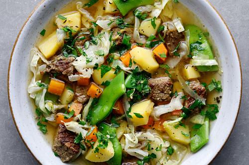 'Pichelsteiner Eintopf' – German stew with beef and vegetables