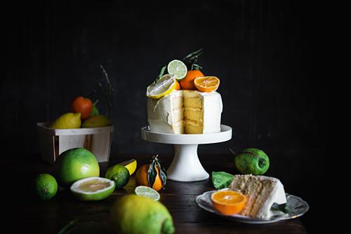 Citrus Layer Cake