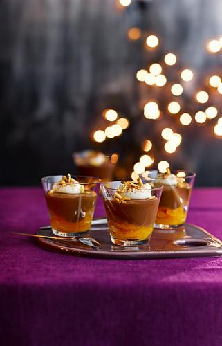 Chocolate and Orange Pots
