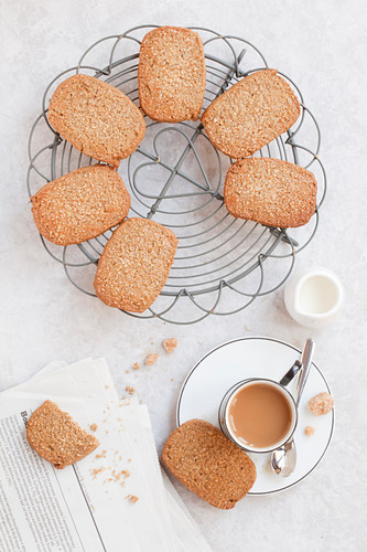 Ginger Biscuits Coffee