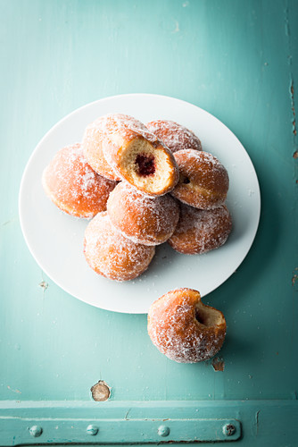 Jam donuts from Berlin