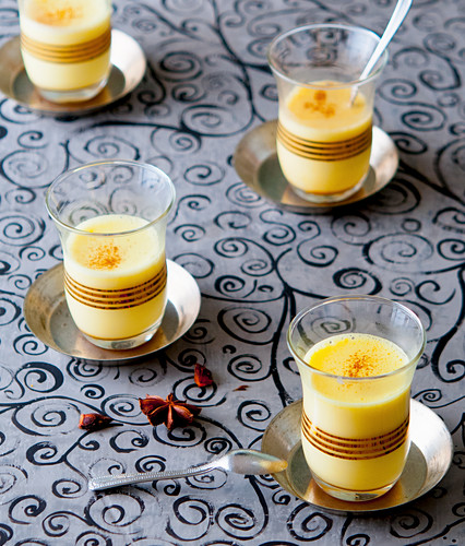 Golden milk with star anise
