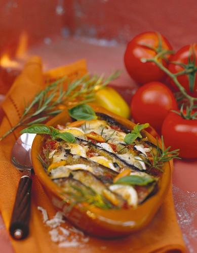 Sformato di verdure (Vegetable bake, Italy)