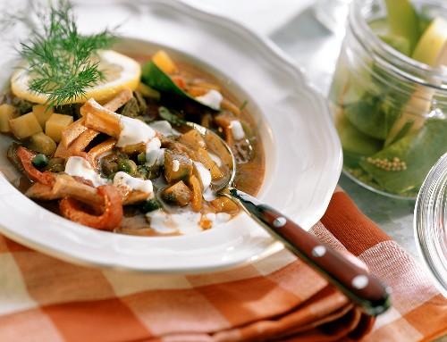 Solyanka (made to East German recipe)
