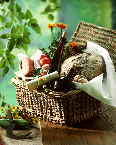 A Picnic Basket Full of Goodies