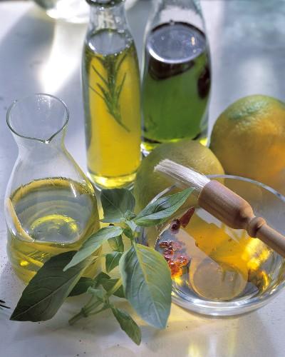 Homemade Herbed Oils