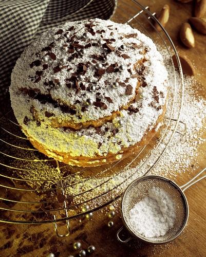 Bolo de maça com Castanha do Pará (Apple & brazil nut cake)