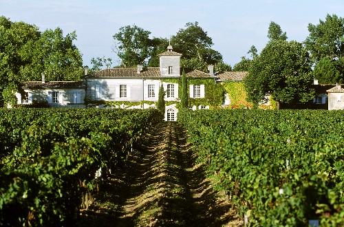 The Chateau Gazin Wine Estate in Pomerol, France