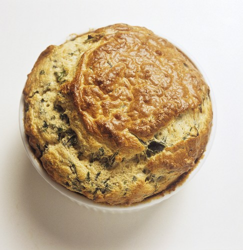Small Spinach Souffle