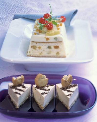 Torta al caffè e zuppa inglese (Coffee cake & layered dessert)