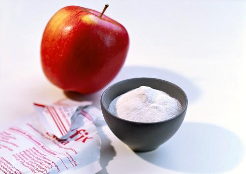 Apple pectin and fresh pectin