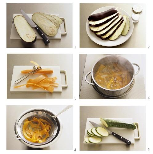 Mariniertes Gemüse zubereiten - Teil 1