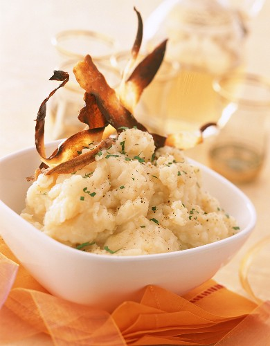 Mashed potato with parsnips