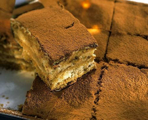 Tiramisù (Layered dessert with mascarpone cream, Italy)