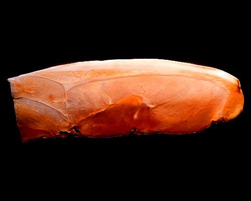 Slice of raw ham