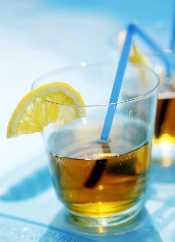 Orange drink with Angostura