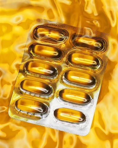 Wheatgerm oil capsules