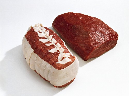 Joints of beef for roasting