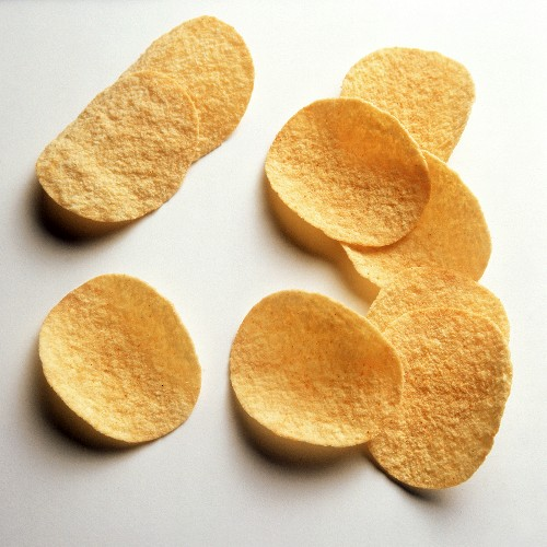 Potato crisps with paprika (Chipsletten)