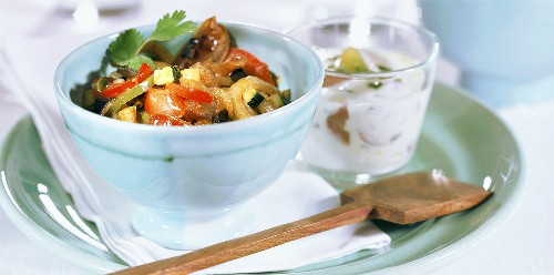 Arabic pan-cooked vegetable dish