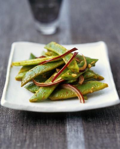 Indonesian bean sambal