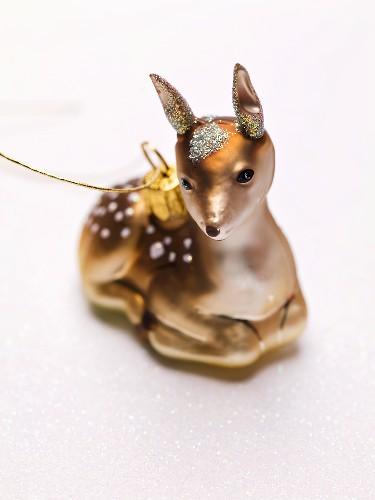 Christmas tree ornament (deer)