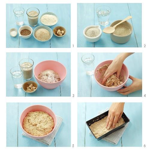 Making sour dough bread