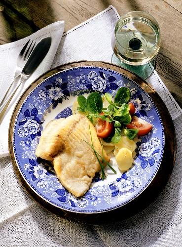 Fried Carp Franconia Style
