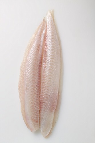 A fresh pangasius fillet