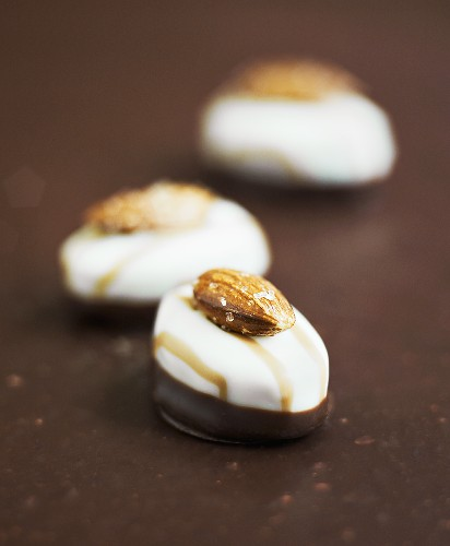 Amandines (Almond chocolates)
