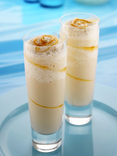 Amarula Swizzler (Drink made with Amarula, rum & vanilla ice cream)