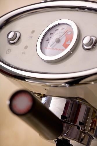 Espresso machine (detail)