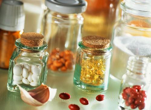 Vitamin- und Mineralstoffpillen