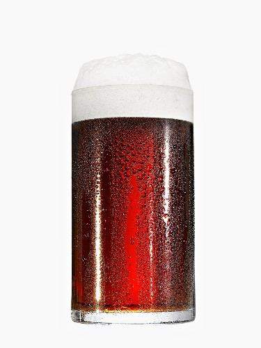 A glass of ale