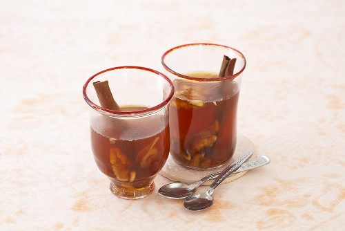 Date tea with spices