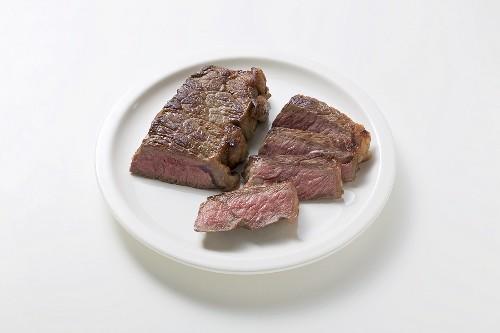 Fried beef steak