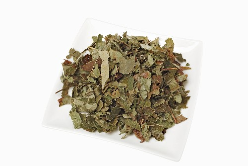 Dried leaves of horny goat weed